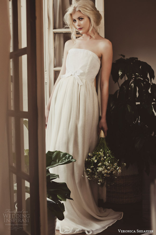 veronica sheaffer fall 2014 deansie wedding dress look book
