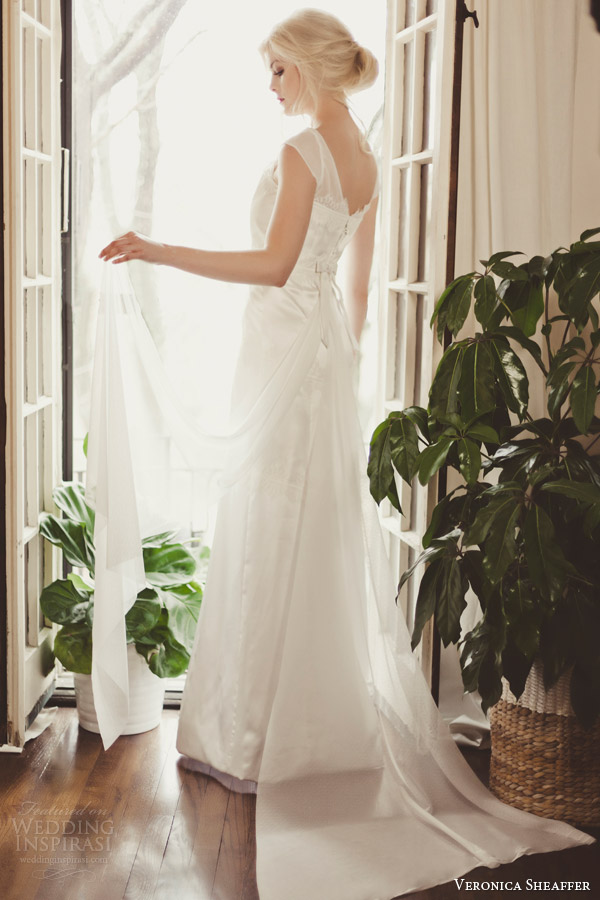 veronica sheaffer fall 2014 orchid gown back photo shoot