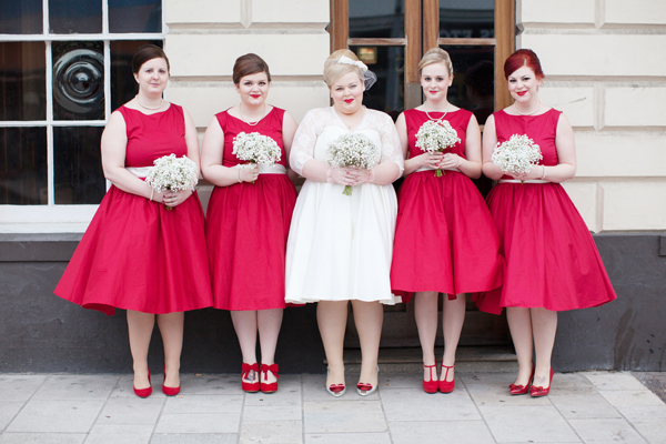 red bridesmaid dress ideas http://www.hayleysavagephotography.co.uk/