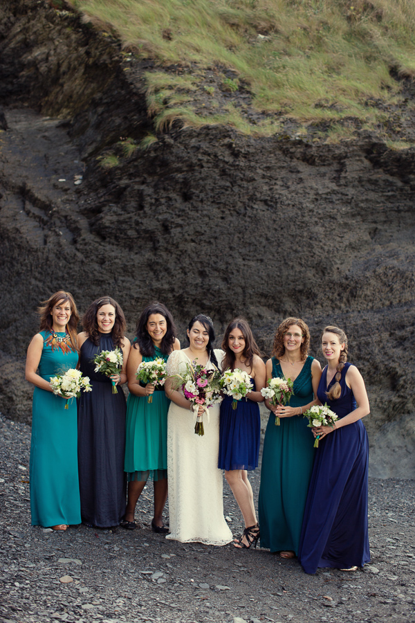 Blue Bridesmaids Wedding http://www.mariannetaylorphotography.co.uk/