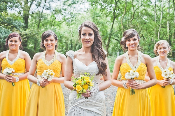 Yellow Bridesmaids Dresses Ideas http://www.emmakenny.com/photography/