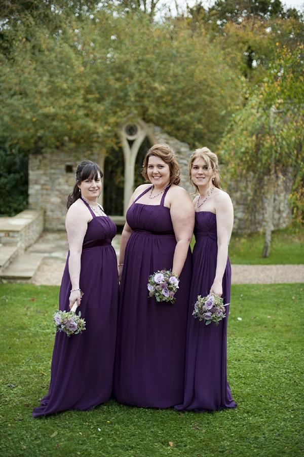 Bridesmaids in Purple http://www.johastingsphotography.co.uk/