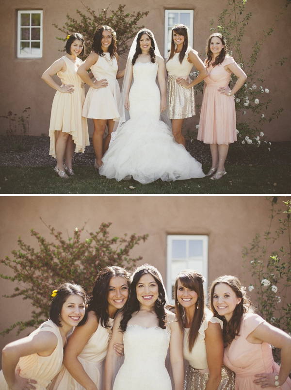 Blush Bridesmaids http://www.jonibilderback.com/