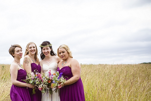 Purple Bridesmaid Dresses Wedding http://www.theimagegarden.co.uk/