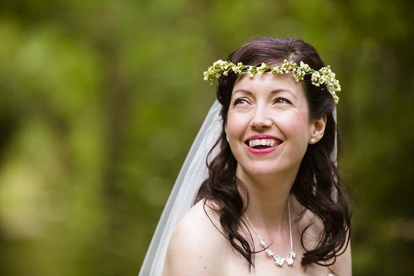 Flower Halo Bride http://www.theimagegarden.co.uk/