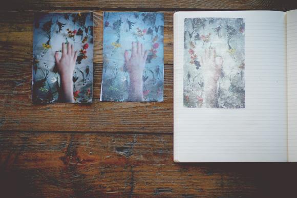 Blender pen photo transfer
