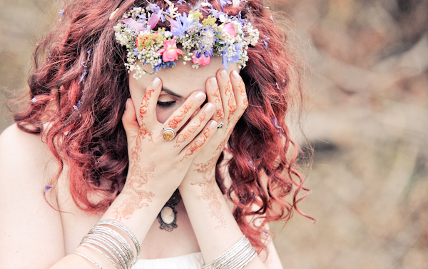 Flower Halo Bride http://www.ctimages.co.uk/