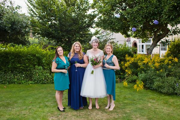 Blue Bridesmaids http://www.hannahmia.com/