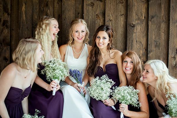 Lavender Bridesmaids http://www.kerrybartlett.co.uk/