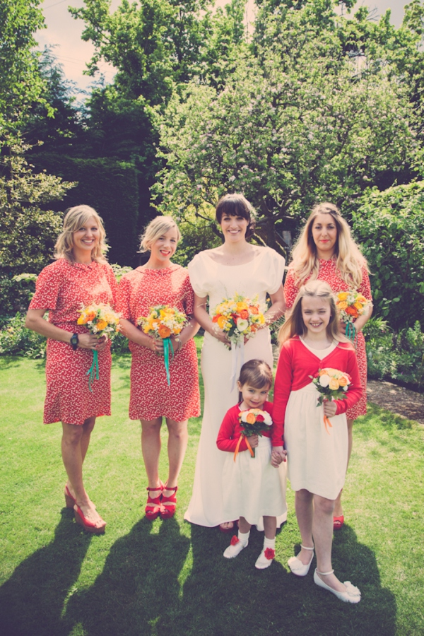 red bridesmaid fashion http://www.ifocusphotography.co.uk/