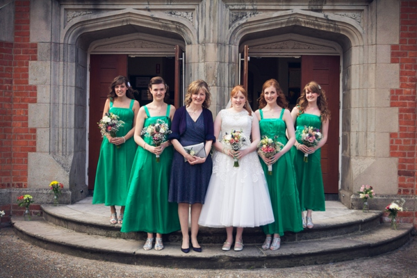 Green Bridesmaids Ideas Fashion http://www.incolourphotography.co.uk/