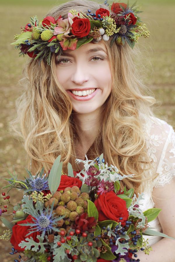 Flower Headdress http://www.melwildephotography.com/