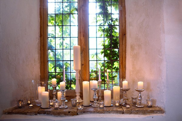 Classic Country House Wedding Candles http://joseph-hall.com/