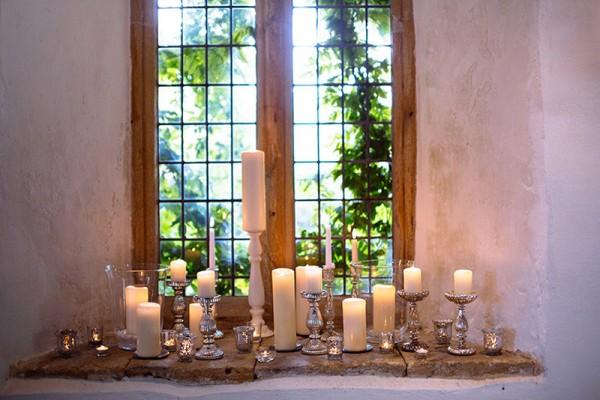 Classic Country House Wedding Candles http://joseph-hall.com/