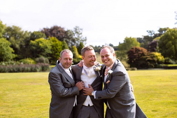 Classic Country House Wedding Grey Tails Groom Suits http://joseph-hall.com/