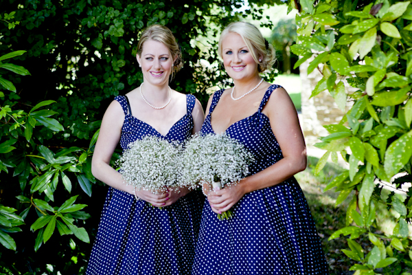 Blue Bridesmaids http://www.ashdownweddingphotography.co.uk/