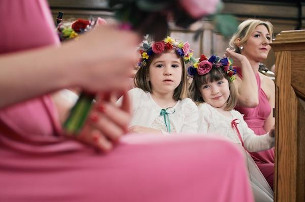 Flower Crown Flower Girl http://www.matthewlongphotography.co.uk/