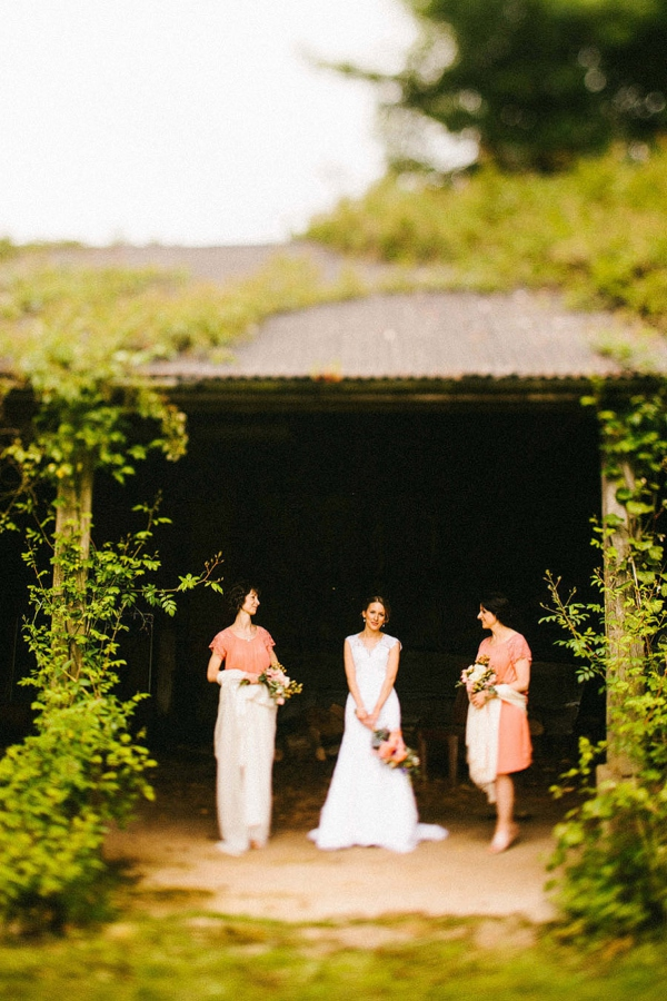 Orange Bridesmaids http://www.mikiphotography.info/