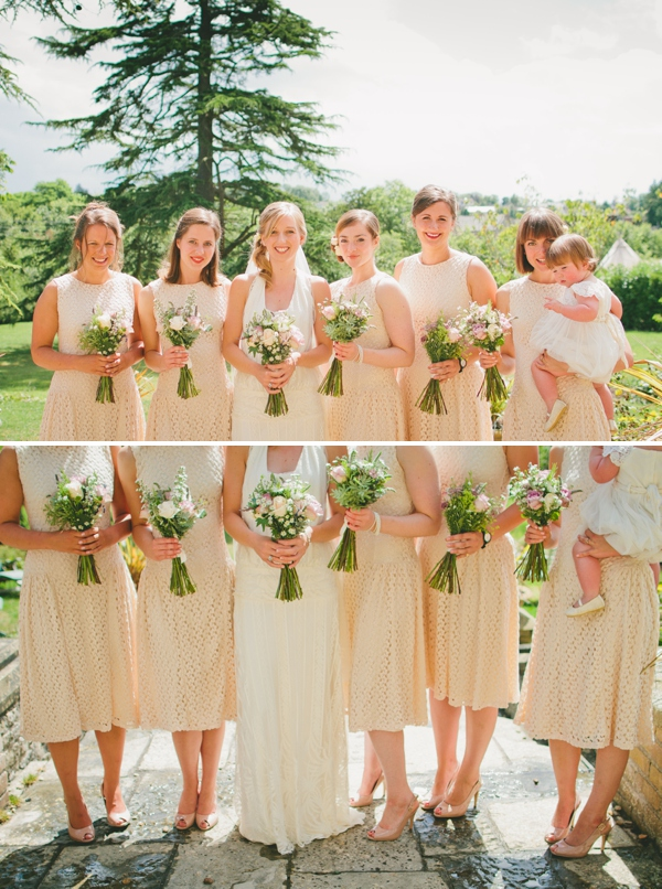 Blush Bridesmaids http://www.mattwillisphotography.com/
