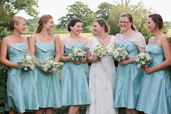 Duck Egg Blue Bridesmaids http://www.samanthawardphotography.co.uk/