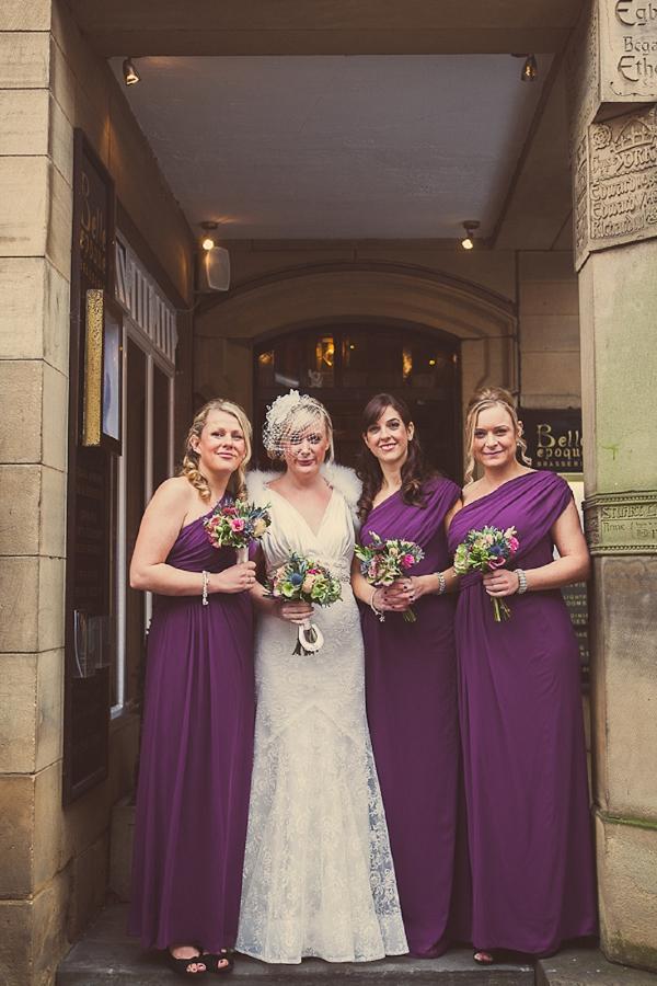 Purple Dresses Bridesmaids http://www.jonnydraper.co.uk/