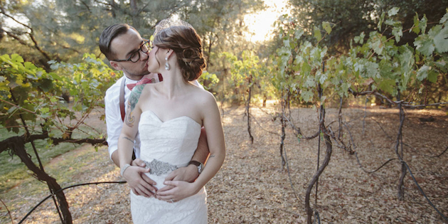 Sweet Rustic Wedding with DIY Details | Matthew James Photography | Bridal Musings Wedding Blog 16
