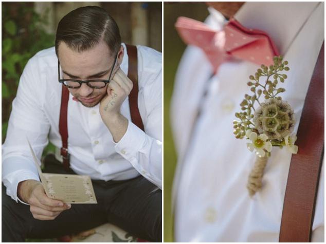 Sweet Rustic Wedding with DIY Details | Matthew James Photography | Bridal Musings Wedding Blog 29