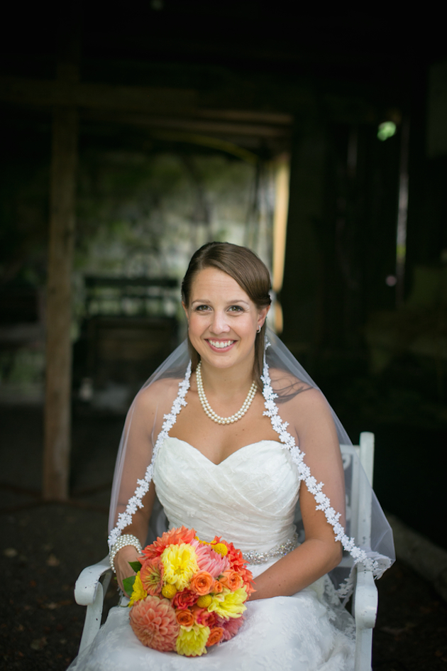 Orange and Yellow Garden Wedding | Brae Howard Photography | Bridal Musings Wedding Blog 12