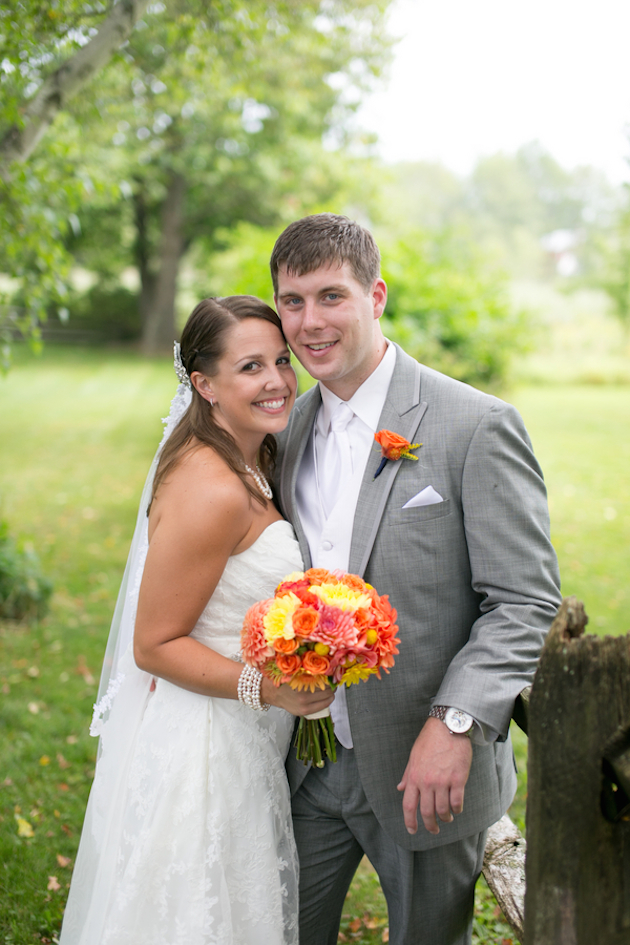 Orange and Yellow Garden Wedding | Brae Howard Photography | Bridal Musings Wedding Blog 13