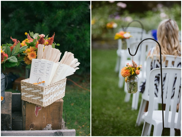 Orange and Yellow Garden Wedding | Brae Howard Photography | Bridal Musings Wedding Blog 2
