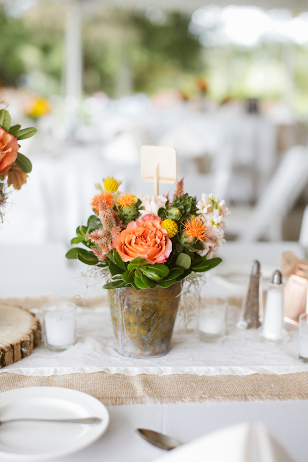 Orange and Yellow Garden Wedding | Brae Howard Photography | Bridal Musings Wedding Blog 24