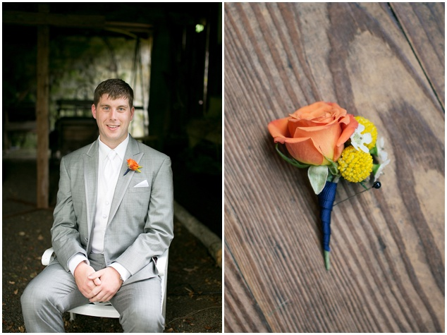 Orange and Yellow Garden Wedding | Brae Howard Photography | Bridal Musings Wedding Blog 3