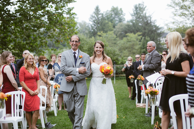 Orange and Yellow Garden Wedding | Brae Howard Photography | Bridal Musings Wedding Blog 32