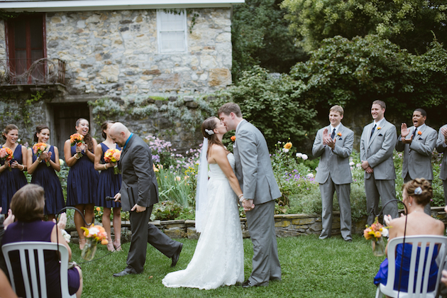 Orange and Yellow Garden Wedding | Brae Howard Photography | Bridal Musings Wedding Blog 37