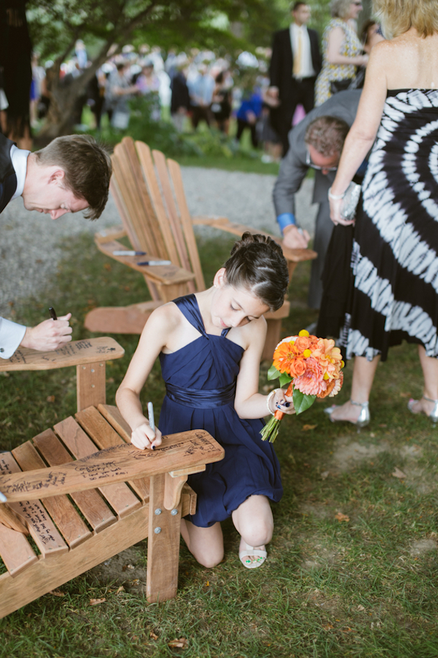 Orange and Yellow Garden Wedding | Brae Howard Photography | Bridal Musings Wedding Blog 38