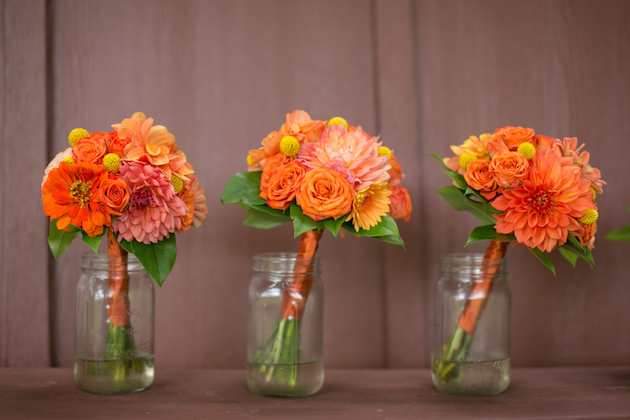 Orange and Yellow Garden Wedding | Brae Howard Photography | Bridal Musings Wedding Blog 6