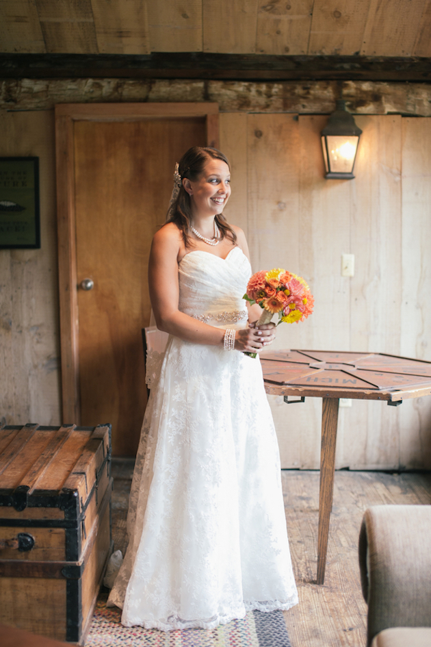 Orange and Yellow Garden Wedding | Brae Howard Photography | Bridal Musings Wedding Blog 7
