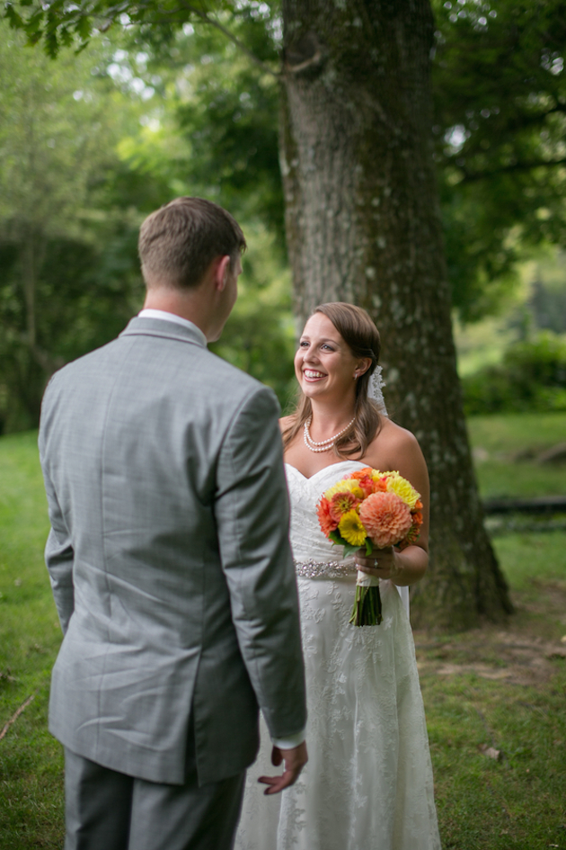 Orange and Yellow Garden Wedding | Brae Howard Photography | Bridal Musings Wedding Blog 9