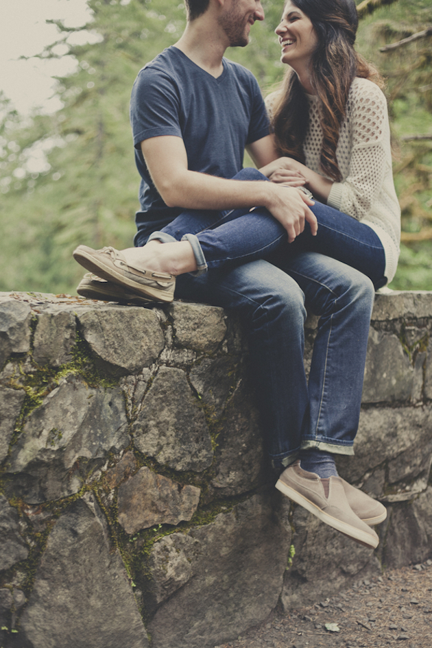 Romantic Woodland Engagement Shoot | Terra Rothman Photography | Bridal Musings Wedding Blog 14