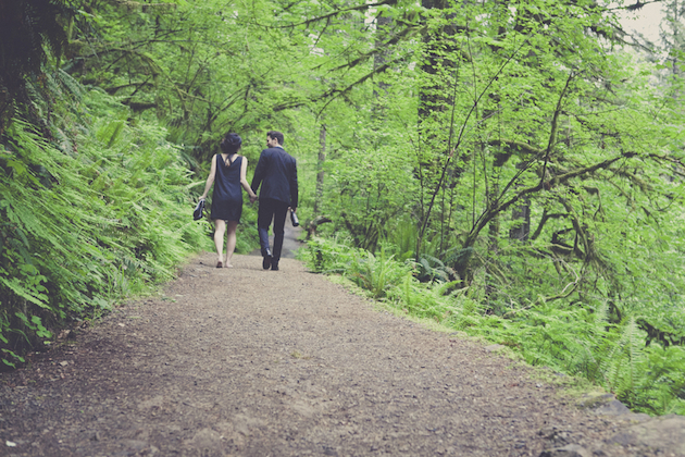 Romantic Woodland Engagement Shoot | Terra Rothman Photography | Bridal Musings Wedding Blog 21