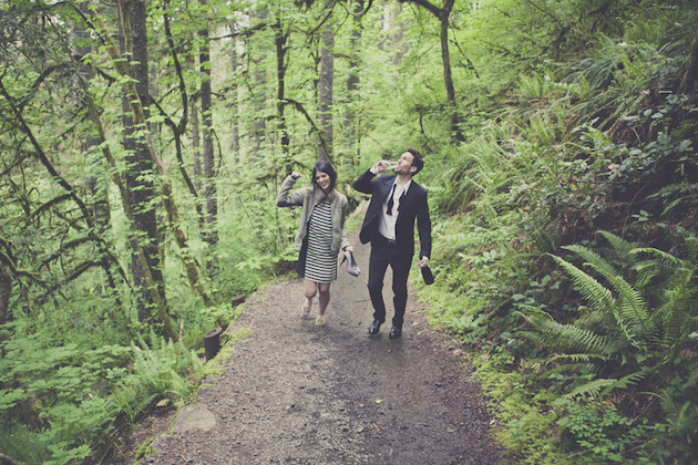 Romantic Woodland Engagement Shoot | Terra Rothman Photography | Bridal Musings Wedding Blog 22