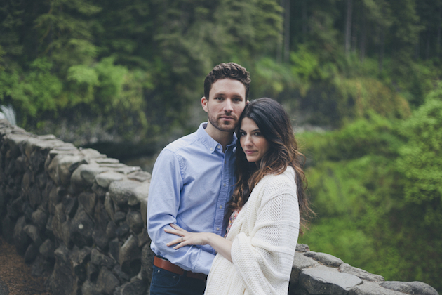 Romantic Woodland Engagement Shoot | Terra Rothman Photography | Bridal Musings Wedding Blog 24