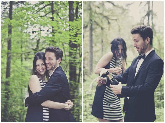 Romantic Woodland Engagement Shoot | Terra Rothman Photography | Bridal Musings Wedding Blog 3