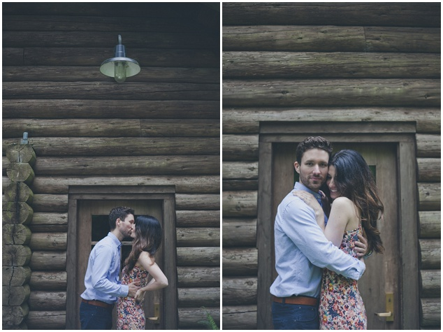 Romantic Woodland Engagement Shoot | Terra Rothman Photography | Bridal Musings Wedding Blog 4