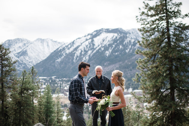 Stunning Mountainside Elopement | Tonie Christine Photography | Bridal Musings Wedding Blog11