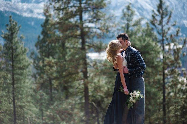 Stunning Mountainside Elopement | Tonie Christine Photography | Bridal Musings Wedding Blog16