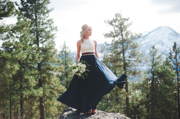 Stunning Mountainside Elopement | Tonie Christine Photography | Bridal Musings Wedding Blog18