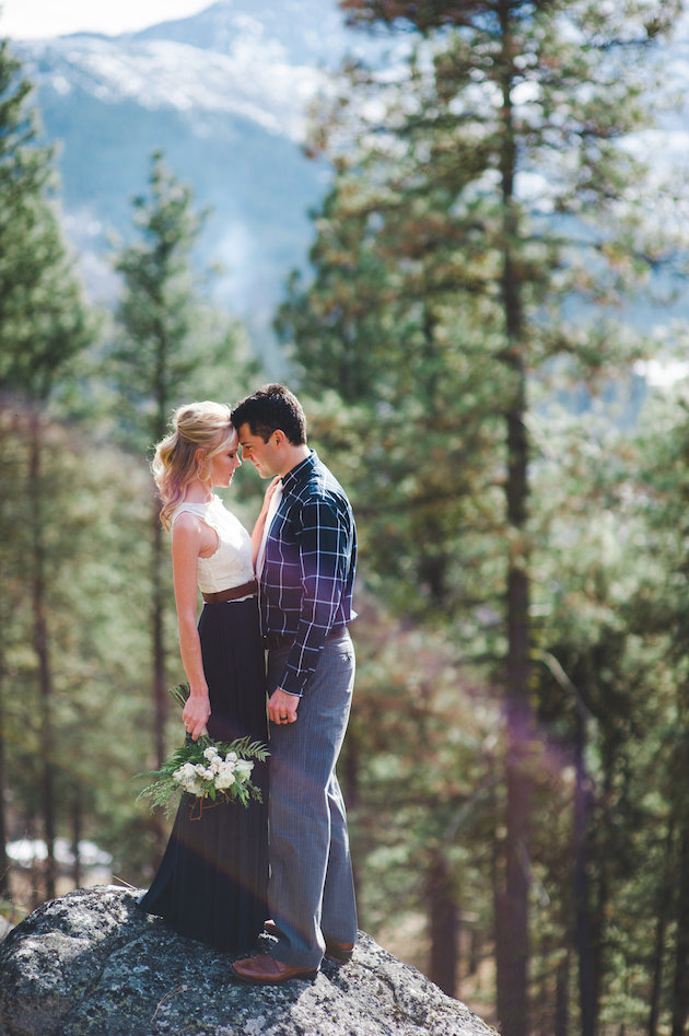 Stunning Mountainside Elopement | Tonie Christine Photography | Bridal Musings Wedding Blog28