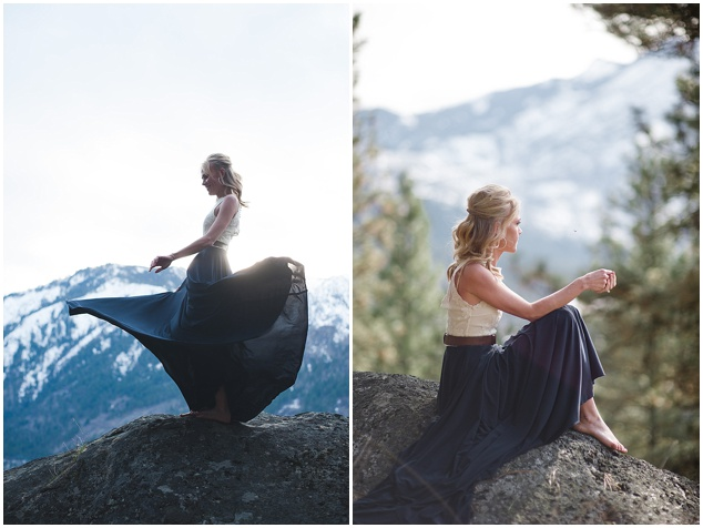 Stunning Mountainside Elopement | Tonie Christine Photography | Bridal Musings Wedding Blog3