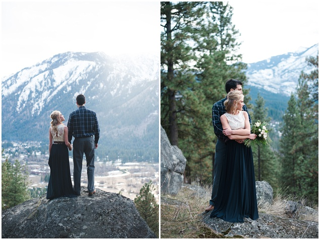 Stunning Mountainside Elopement | Tonie Christine Photography | Bridal Musings Wedding Blog4